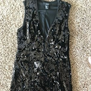Forever 21 Velvet and Sequin Dress